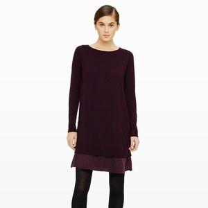 Club Monaco Merino Wool Layered Sweater Dress S